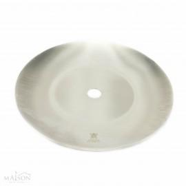 Assiette kaya pour chicha en acier inoxydable de 20.5cm